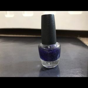 Glitter Top Coat (purple)  NW 0.40 Fl Oz (12ml)